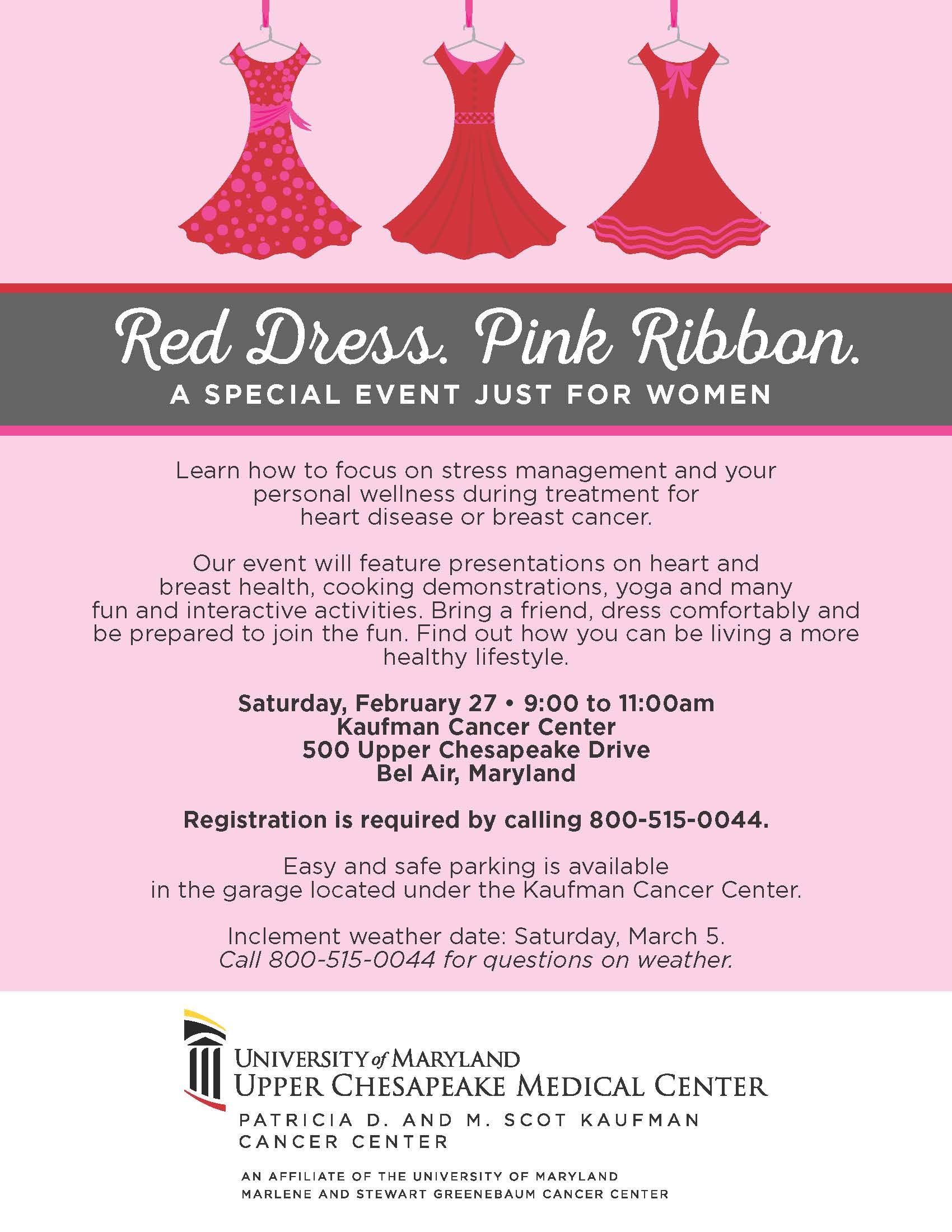 Red Dress Pink Ribbon – a special event just for women! - Healthy ...