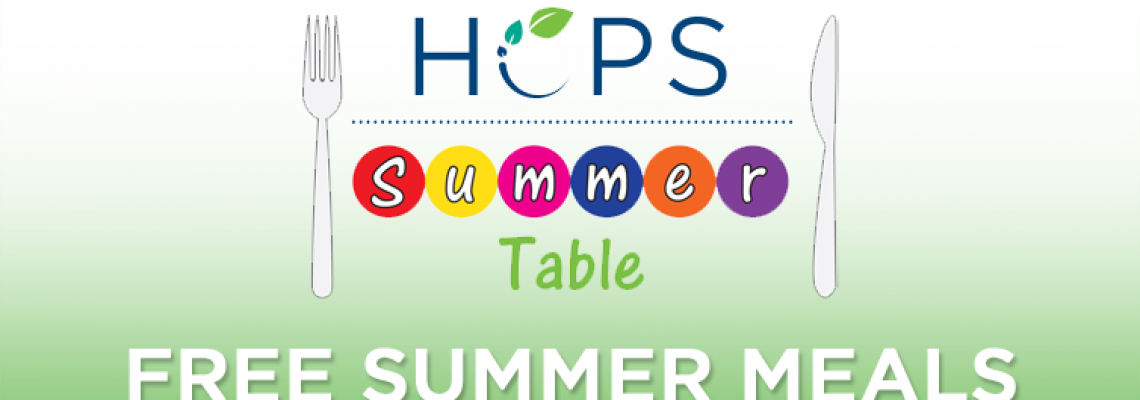 HCPS-Summer-Table_Free-Summer-Meals-2018